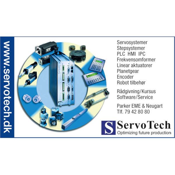 ServoTech Annonce Produktcirkel 2007