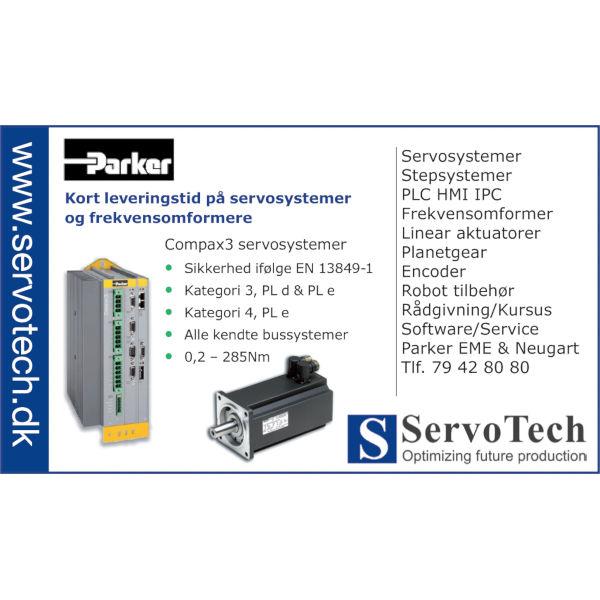 ServoTech Annonce Servosystemer Parker 2011