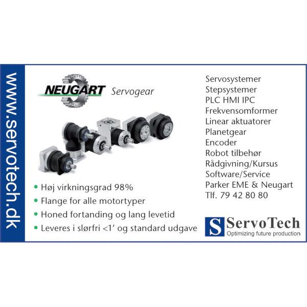 ServoTech Annonce Servogear Neugart 2011