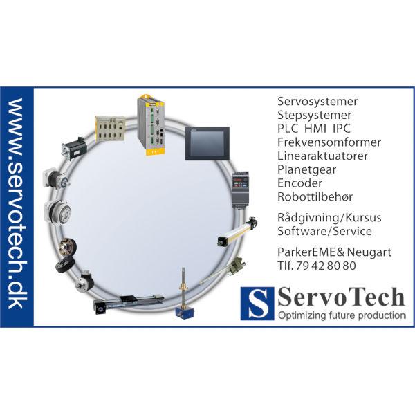 ServoTech Annonce Produktcirkel 2014