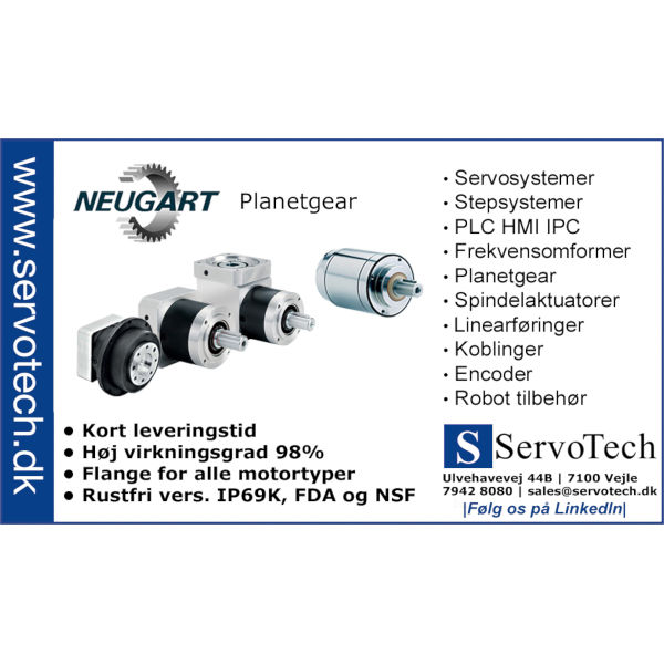 ServoTech Annonce Planetgear Neugart 2015