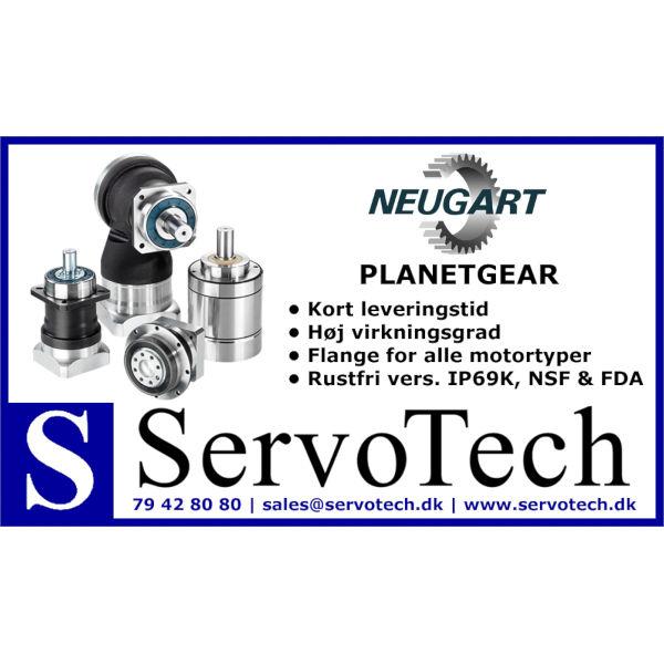 ServoTech Annonce Planetgear Neugart 2016
