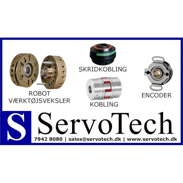 ServoTech Annonce Robot Værktøjsveksler Skridkobling Kobling Encoder 2017
