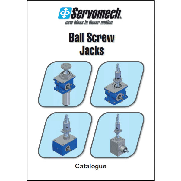 Kuglegevind Screw Jacks